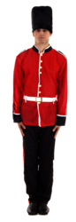 Buzby Royal Guard Costume