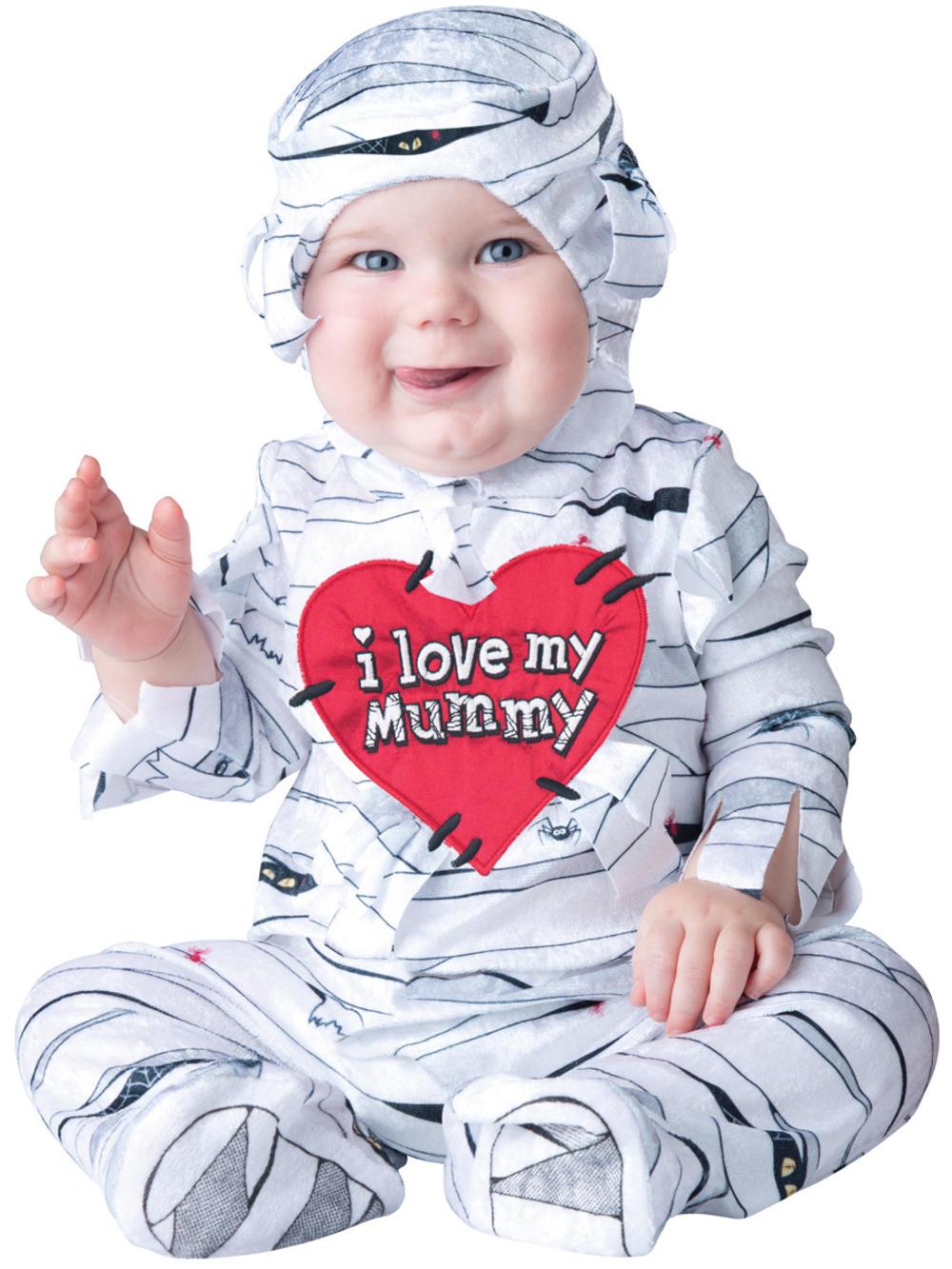 I Love My Mummy Baby Costume