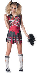 Spiritless Cheerleader Ladies Costume