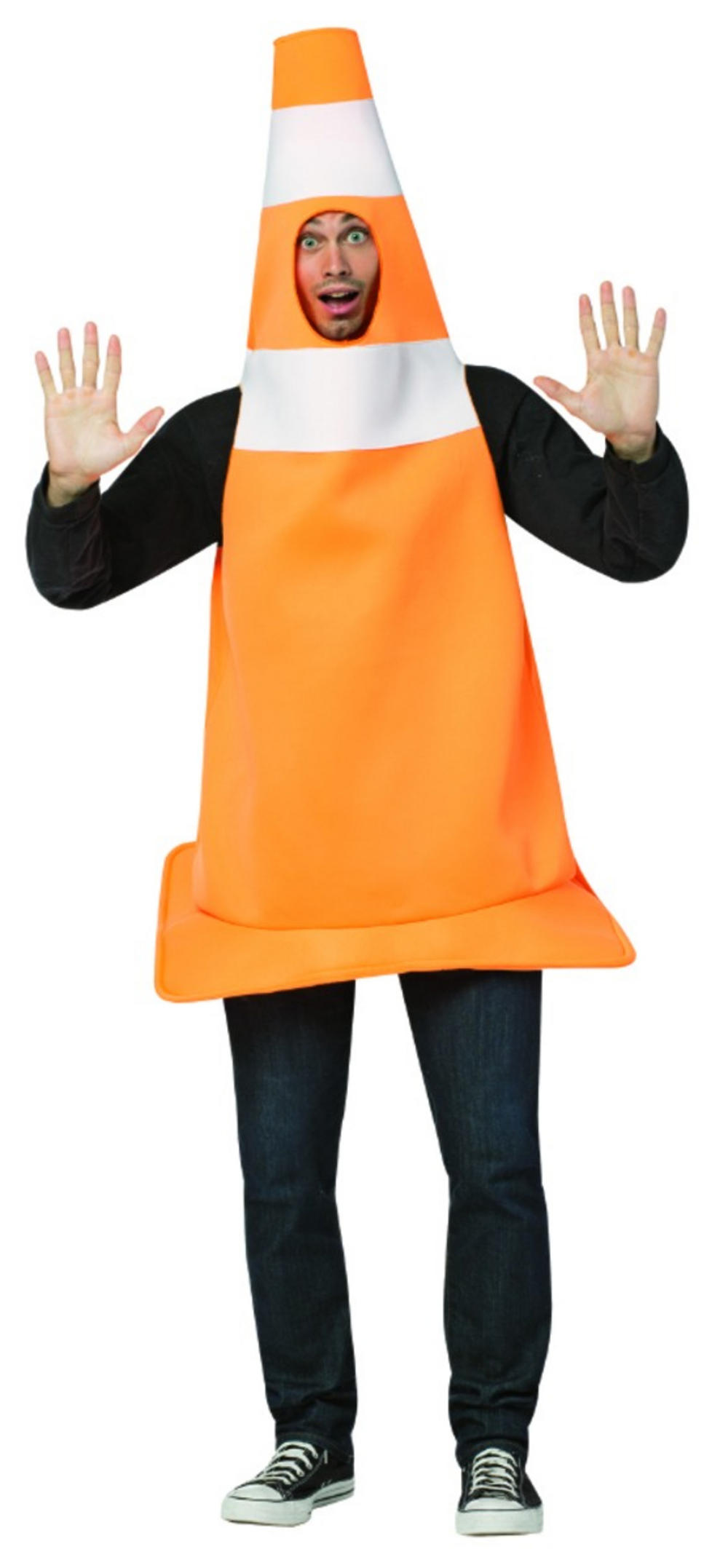 traffic cone adults costume