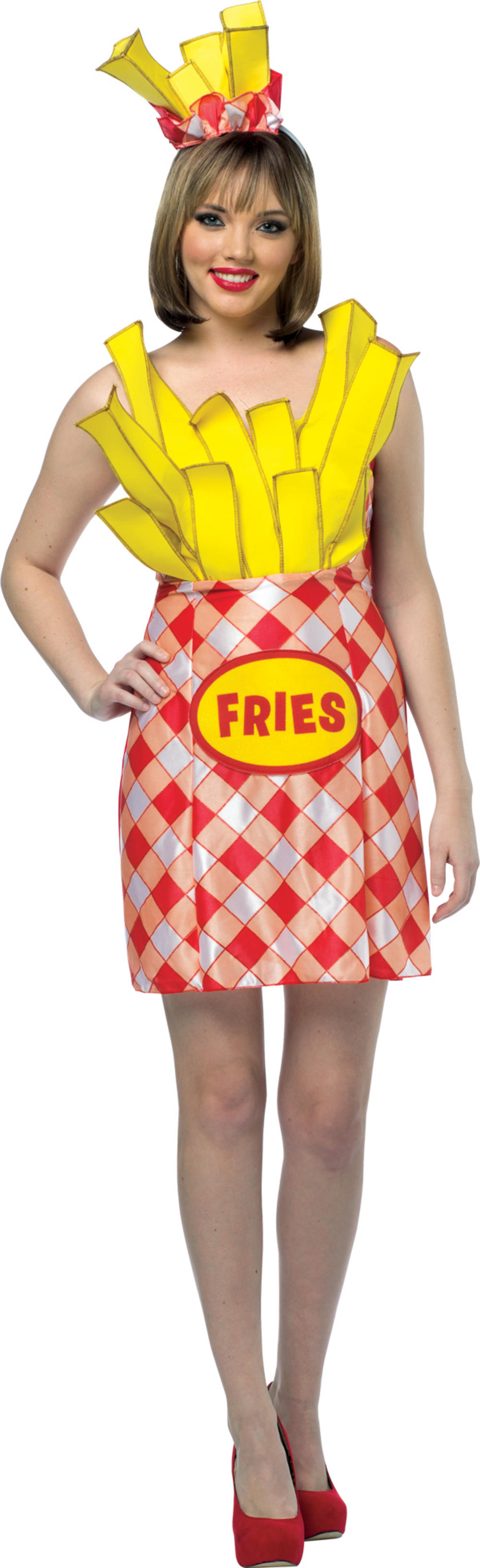 French Fries Ladies Costume