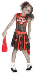 Undead Cheerleader Girls Costume
