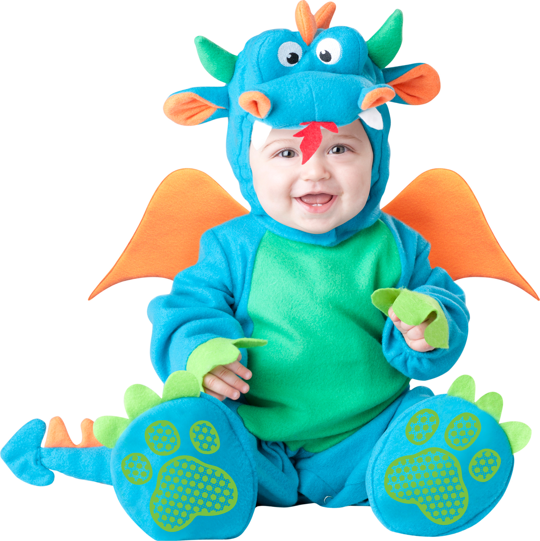 Lil Dragon Baby Fancy Dress Fairytale Animal Boys Toddlers Infants