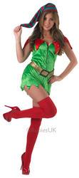 Sexy Elf Ladies Costume