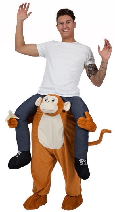 Carry Me Cheeky Monkey Costume