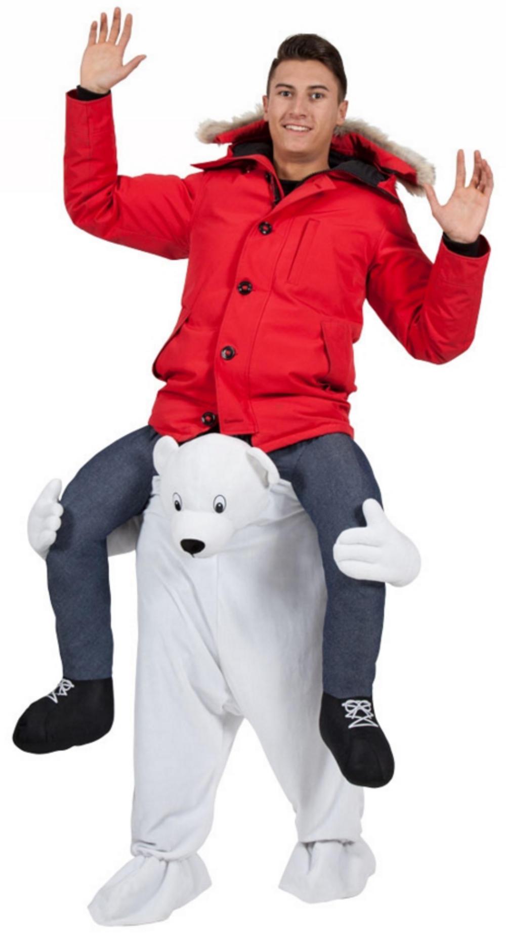 Carry Me Polar Bear Costume