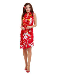 Hawaiian Beauty Ladies Costume