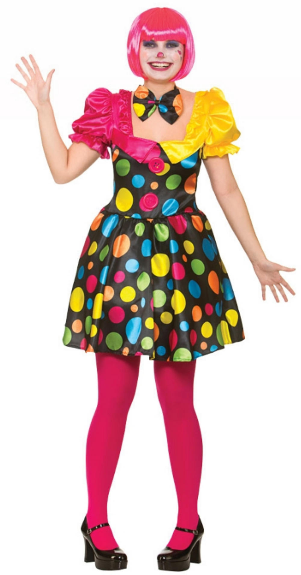Circus Clown Ladies Costume