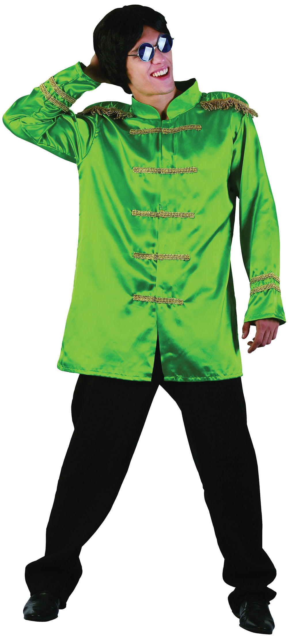Green Sgt Pepper Adults Jacket