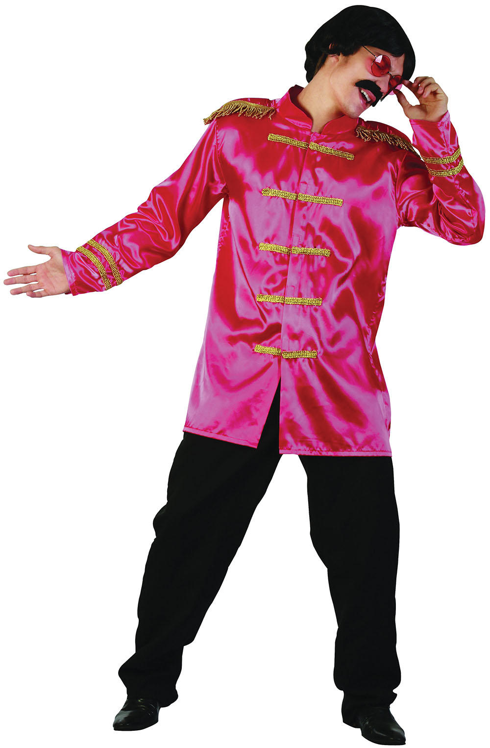 Pink Sgt Pepper Adults Jacket