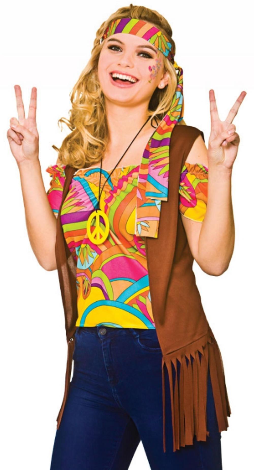Cool Hippie Ladies Accessory Set