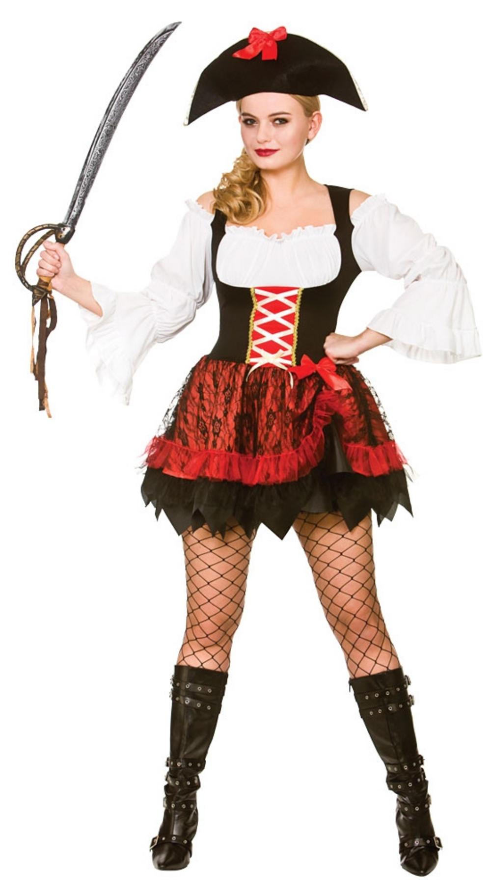 Charming Pirate Ladies Costume
