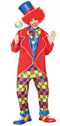 Circus Clown Mens Costume