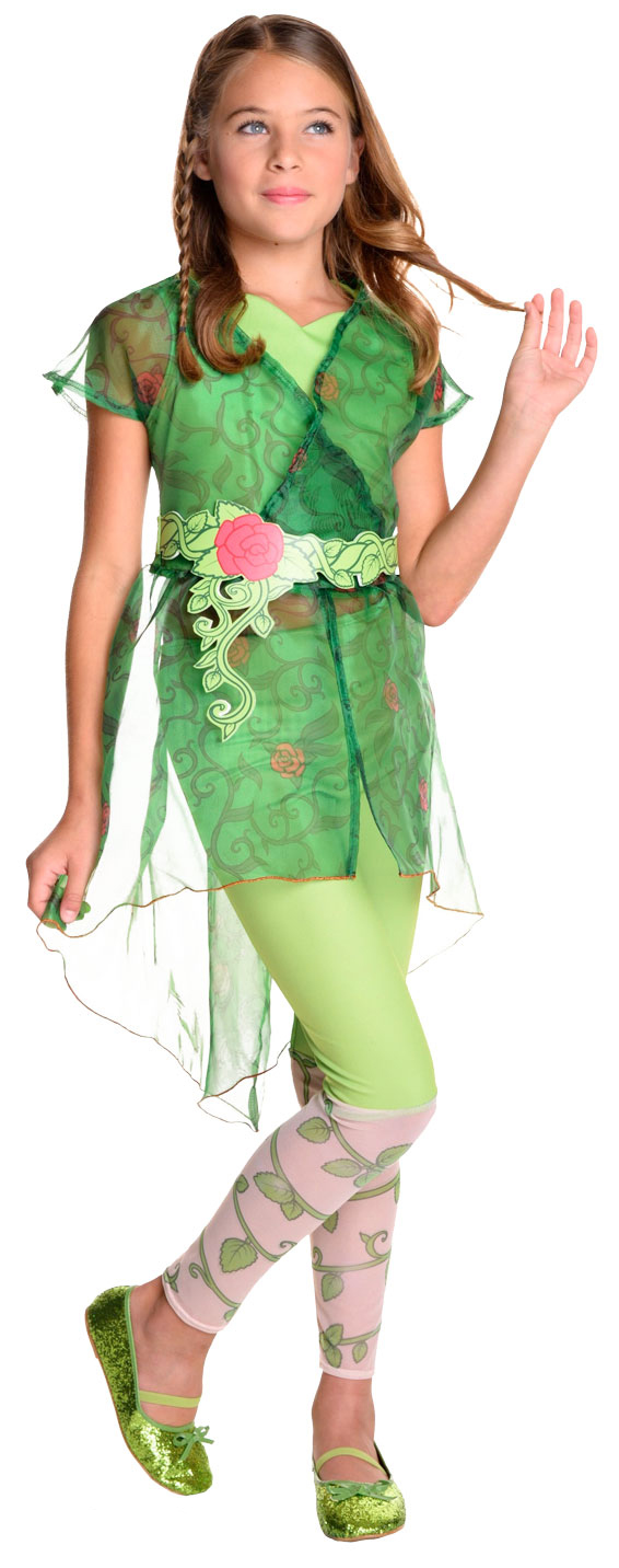 Deluxe Poison Ivy Girls Costume  sc 1 st  Mega Fancy Dress : poison ivy costume kid  - Germanpascual.Com