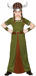 Viking Princess Girls Costume