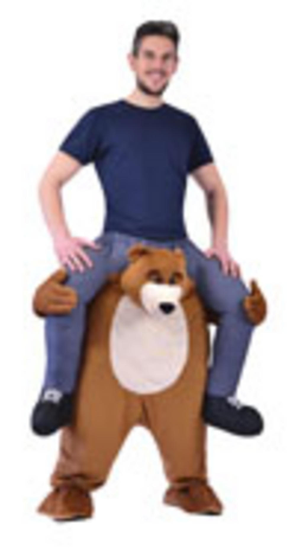 Piggy Back Bear Costume