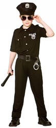 New York Cop Boys Costume