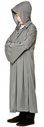 Grey Hooded Robe Boys Costume Accessory