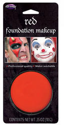 Red Facepaint Makeup