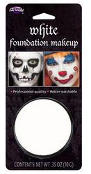 White Facepaint Makeup
