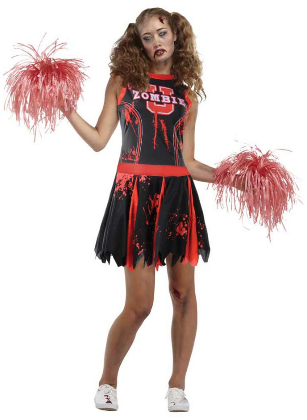 Undead Cheerleader Ladies Costume