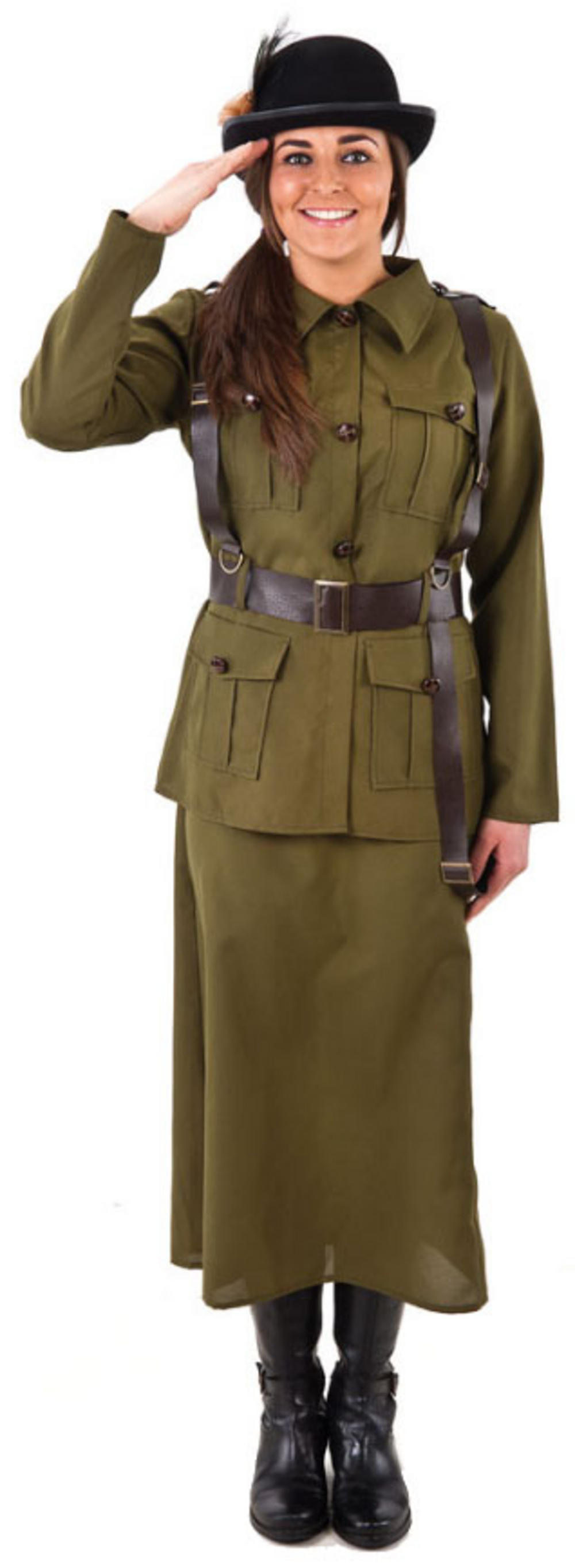 Female Army Volunteer Ladies Costume