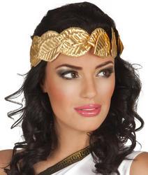 Gold Headband Laurel Costume Accessory