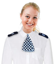 WPC Scarf and Epaulettes Costume Accessory