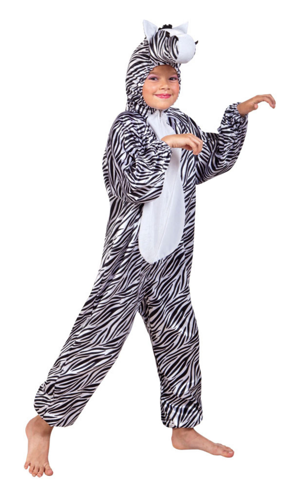 Zebra Plush Childs Costume