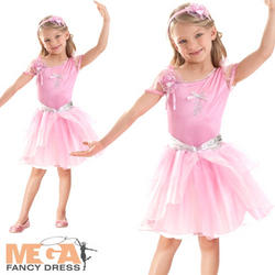 Barbie Pink Ballerina Girls Costume