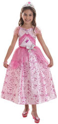 Barbie Pastel Pink Princess Girls Costume
