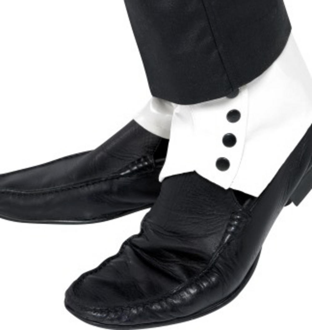 White Spats Adults Costume Accessory
