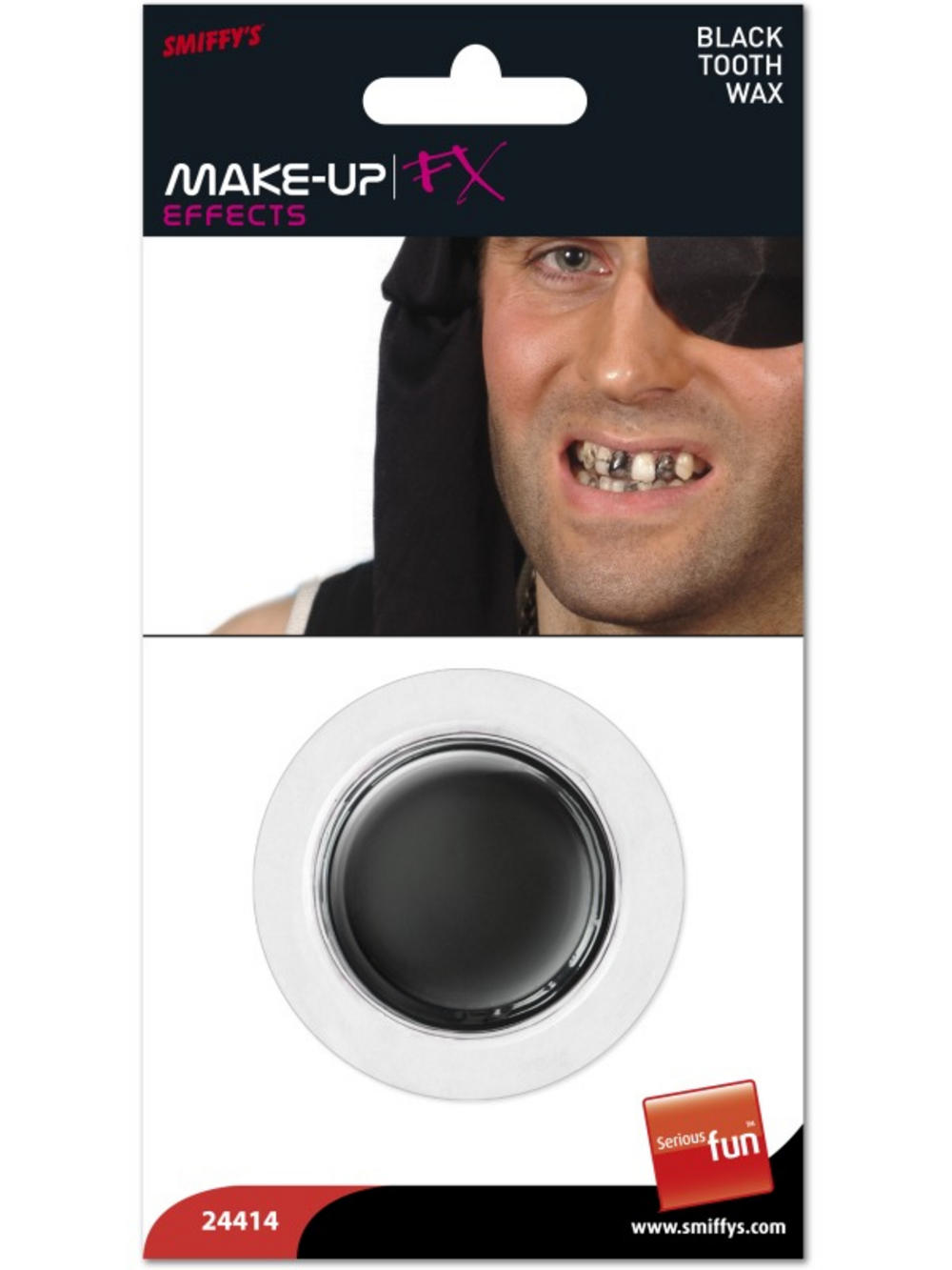 Black Tooth Wax Costume Accessory
