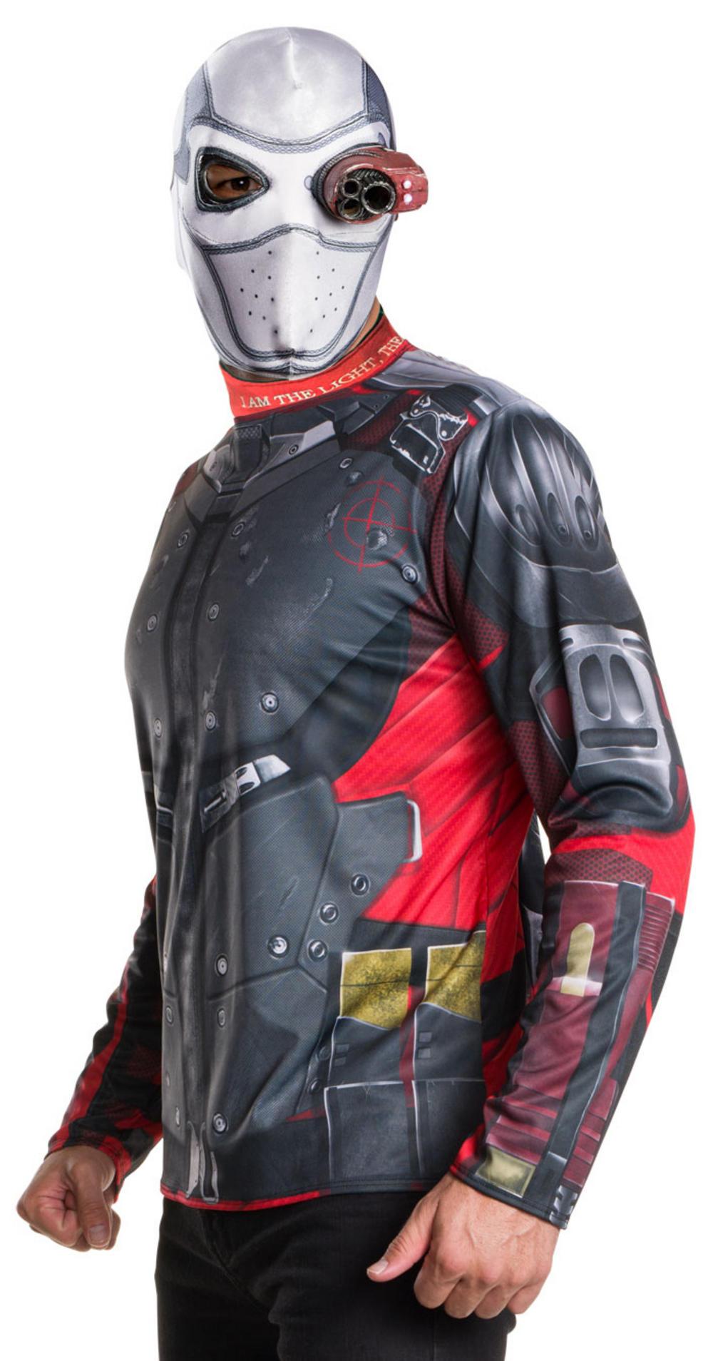 Deadshot Suicide Squad Mens Villain Fancy Dress