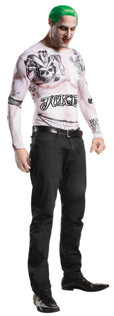 Joker Suicide Squad Mens Villain Costume