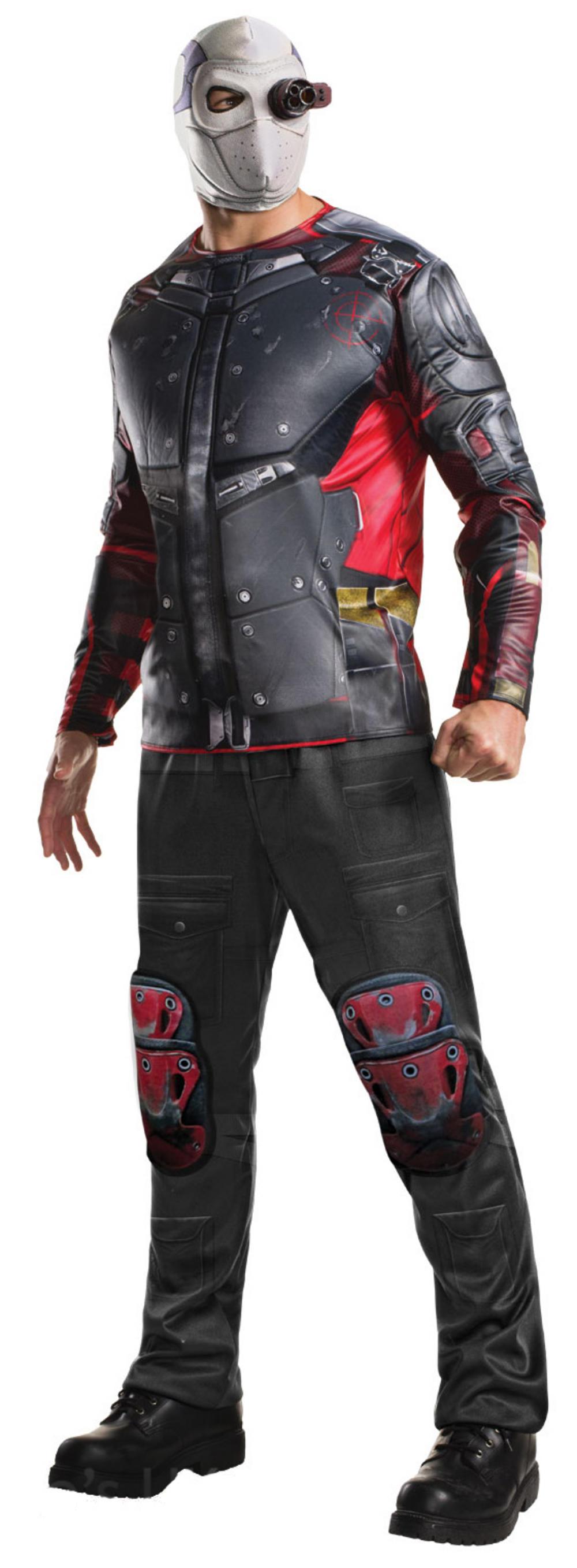 Deadshot Suicide Squad Mens Villain Costume