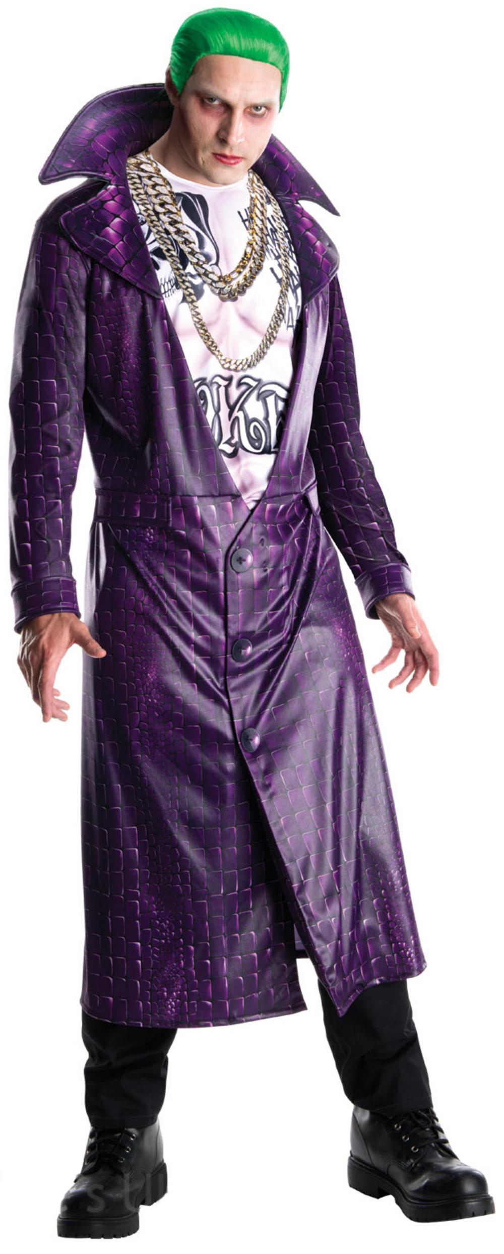 Joker Suicide Squad Mens Villain Fancy Dress