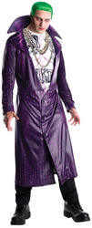 Joker Suicide Squad Mens Villain Fancy Dress