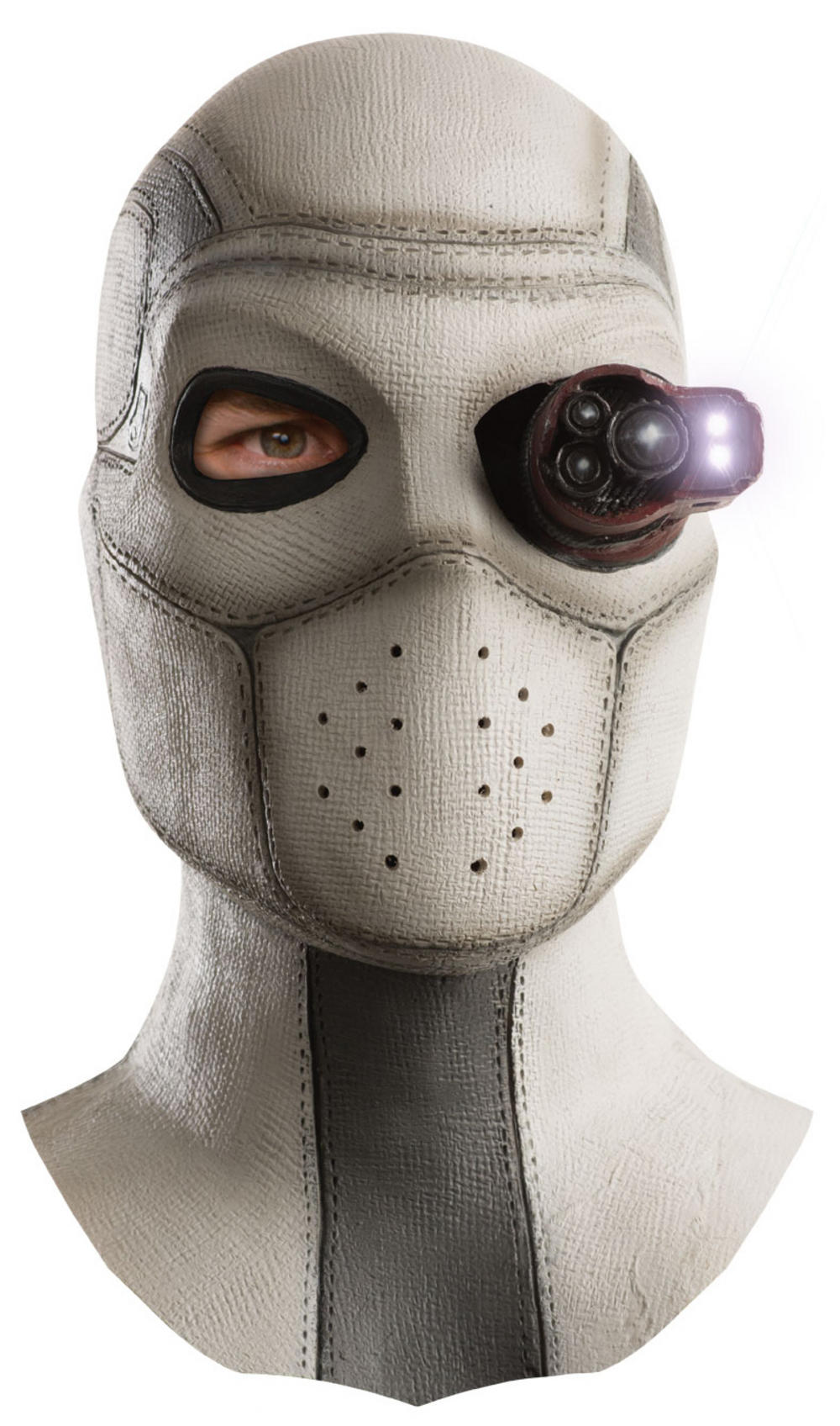 Deadshot Suicide Squad Light Up Mens Mask