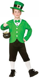 Funny Leprechaun Boy Costume