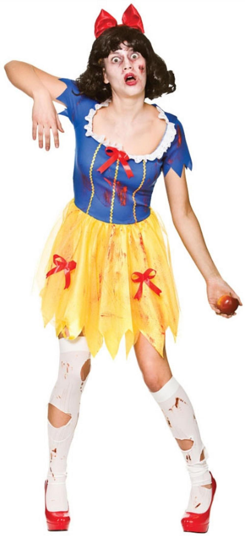 Zombie Snow White Ladies Costume