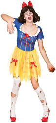 Zombie Snow White Ladies Costume