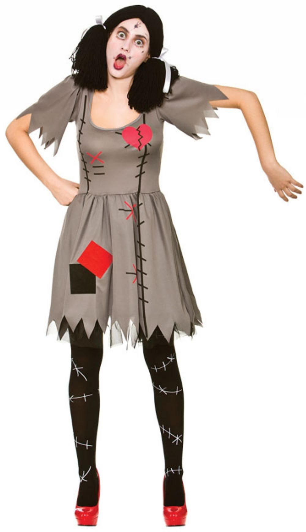 Freaky Voodoo Doll Ladies Costume