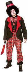 Deluxe Freaky Clown Mens Costume
