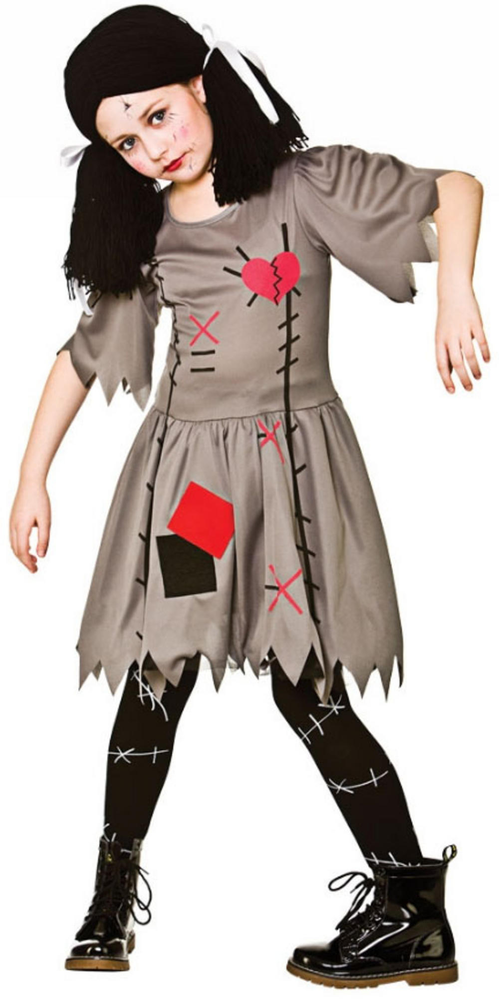 freaky voodoo doll girls costume | all halloween | mega fancy dress