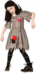 Freaky Voodoo Doll Girls Costume