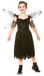 Dark Fairy Girls Costume