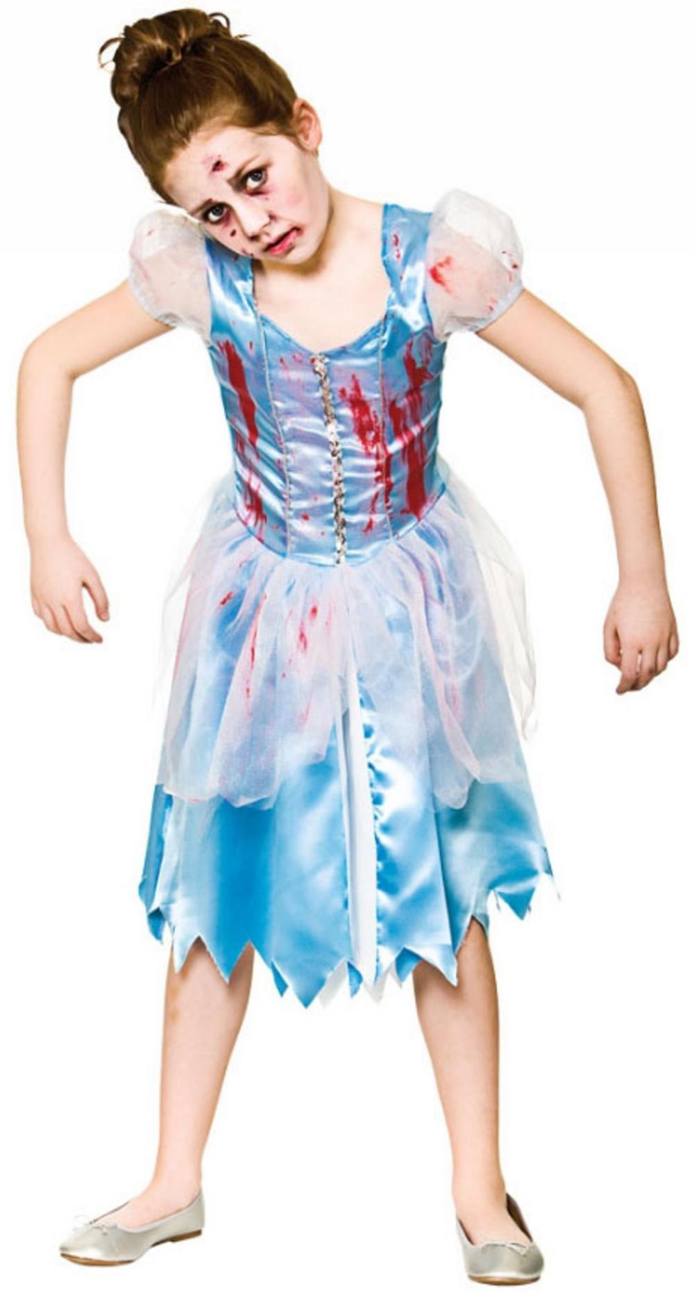 Zombie Cinders Girls Costume
