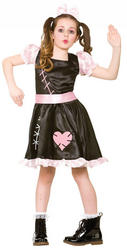 Wind Up Doll Girls Costume