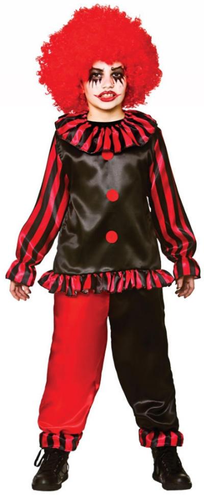 Evil Clown Boys Costume